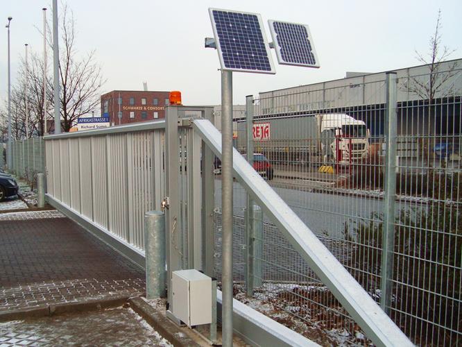 Schiebetorantrieb - Solar
