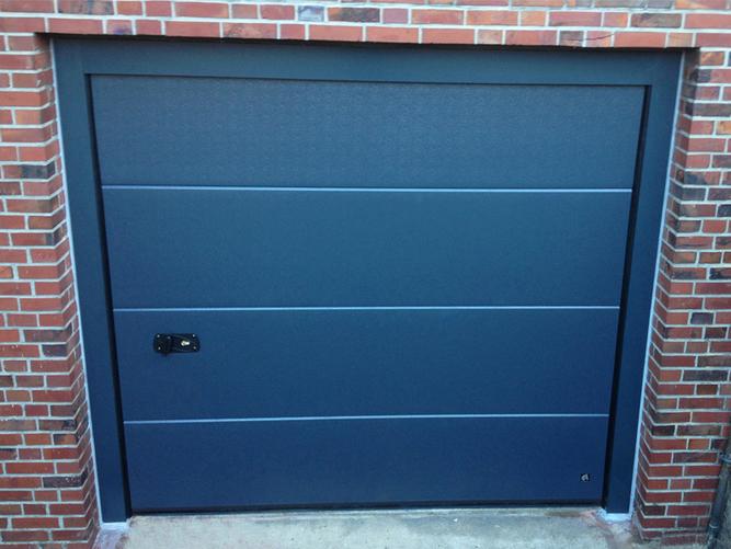 Garagentor - Öffnung von Außen