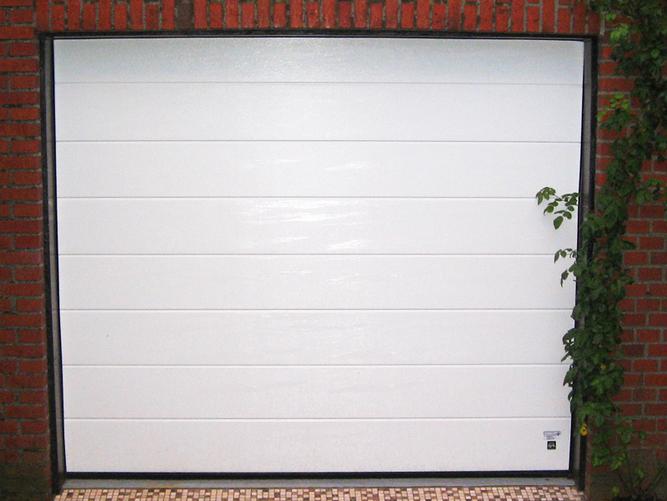 Garagentor - Sektional, Horizontalfüllung