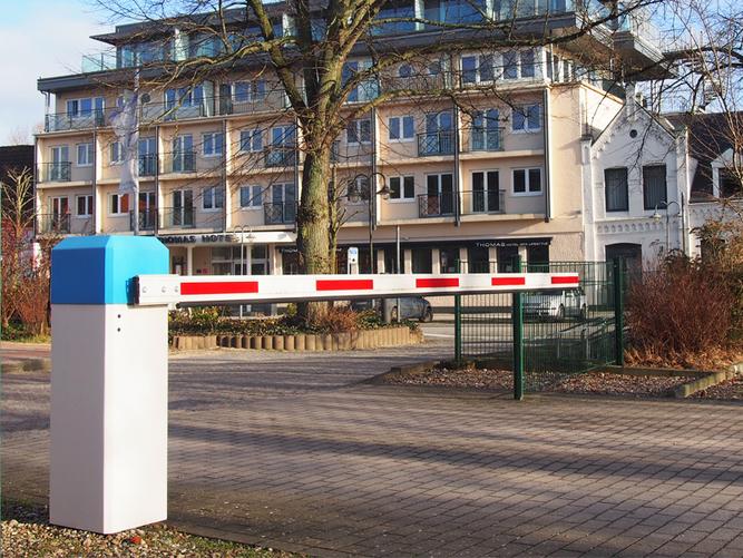 Schranke - 230V, Sperrbreite 4,0 m